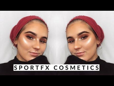 Cranberry Smokey Eye Tutorial GRWM | Sportfx Cosmetics