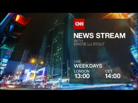"CNN International: ""News Stream"" promo"