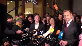Christian Lindner: Besser nicht regieren, als falsch.
