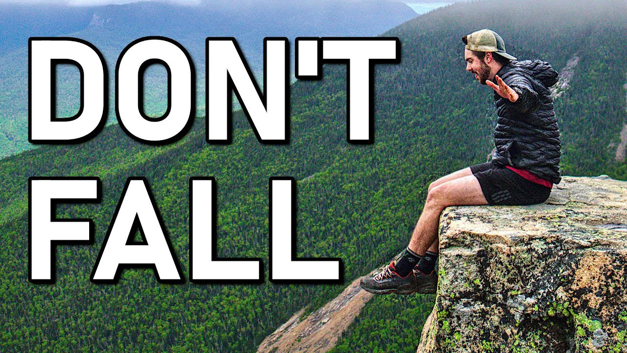 Backpacking to the Most DANGEROUS Cliff Ever | White Mountains Bondcliff