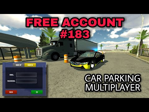 Free Account 58 Car Parking Multiplayer Your Tv Giveaway Youtube