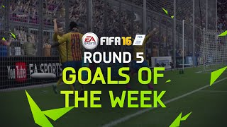 FIFA 16 - Best Goals of the Week - Round 5