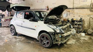 My Swift's Getting Fully Repainted | Modified Maruti Swift | Musafir's Swift | Swift's Repainting
