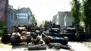*NEW* GERMAN ARMY INVADES FRANCE DEFENDS 1940 | Post Scriptum Gameplay