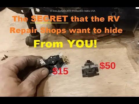 RV Repair Shops Secret Furnace Fix Trick, Secret Part Option 70% Less $$