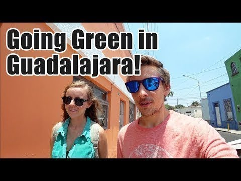 #106. Going Green in Guadalajara! (Mibici Mexico Transportation Tips)