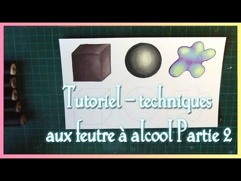 TUTORIEL - Feutres à alcool (type graph