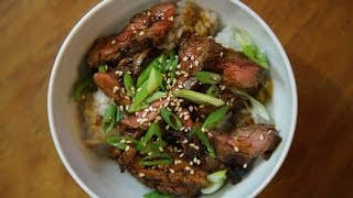 Best Asian Steak Marinade   SAM THE COOKING GUY recipe