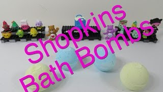Shopkins Bath Bombs Fizzies Round 4 With Shoutouts
