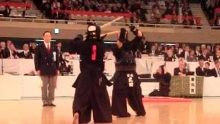 SlowMotion - KATSUMI's M (vs TAKEDA) - 64th All Japan KENDO Championship - First round 29