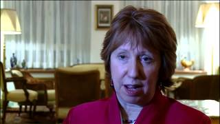 Catherine Ashton visits Iran   Interview