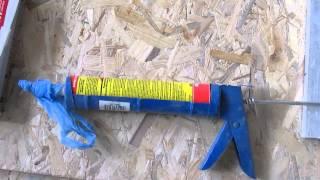 Монтажный пистолет для герметика(Пистолет для герметика. Кстати, для жидкой резины, подобные дешевые устройства не годятся - нужно использов..., 2015-01-01T17:43:57.000Z)