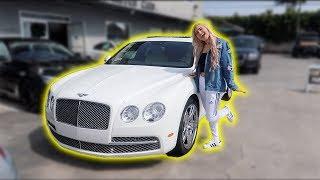 SHE FINALLY FOUND HER DREAM CAR!!