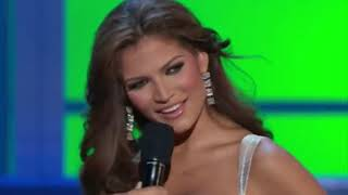 2007 Miss Universe: Final Question