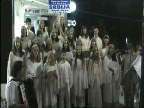 """Катюша / Katyusha ""  Dragan Djedovic & Childrens church choir  St.Sava- Loznica (Serbia)"