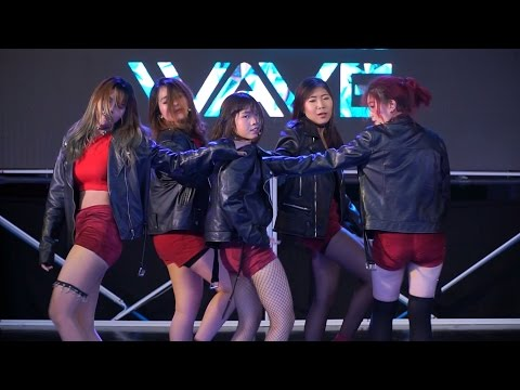 160528 Fa'Iz cover EXID - Intro + Ah Yeah + Up & Down @G-WAVE Cover Dance 2016