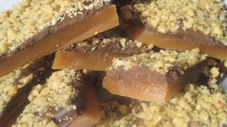 Chistmas Day English Toffee - How To Make English Toffee Candy Recipe