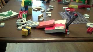 My Rube Goldberg Machine-Flip a coin