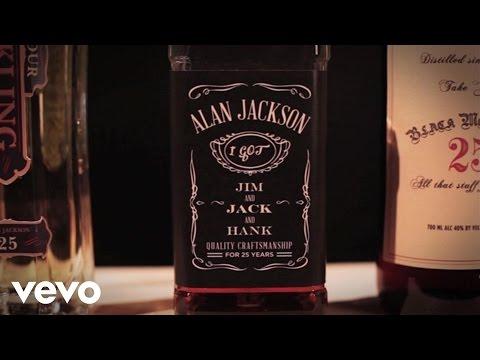 Alan Jackson  Jim And Jack And Hank Lyric