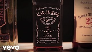 Alan Jackson - Jim And Jack And Hank (Lyric Video)
