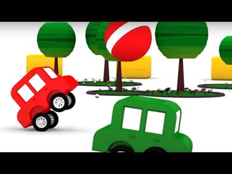 4 Машинки и торт. Мультики для детей про машинки. Развивающее видео для мальчиков