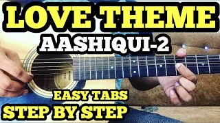 Aashiqui 2 LOVE THEME Guitar Tabs/Lead Lesson By FuZaiL Xiddiqui | Tum Hi Ho | instrumental Cover