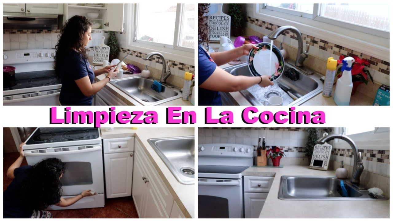 Nueva Rutina De Limpieza En La Cocina|Cocina Nueva Limpieza Diaria ...