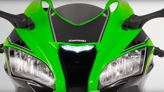 New 2016 Kawasaki Ninja ZX-10R - Official Video.