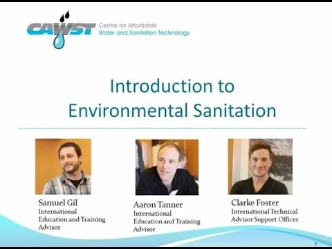 Webinar: Introduction to Environmental Sanitation -- CAWST