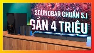 Chuẩn âm thanh 5.1, giá gần 4 triệu, đây là soundbar đáng mua nhất - SONY HT S20R