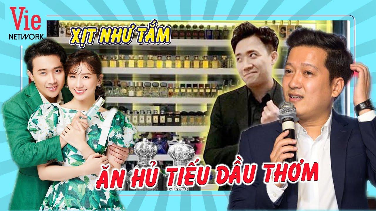 Trường Giang than phiền Trấn Thành với Hari Won xịt dầu thơm như tắm   Chọn Ai Đây