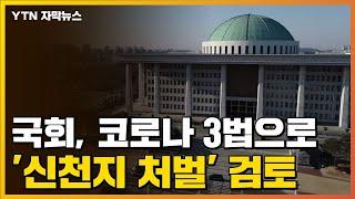 [자막뉴스] 국회, 코로나 3법으로 '신천지 처벌' 검토 / YTN