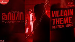 DARBAR (Tamil) - Villain Theme (Vertical Video) | Rajinikanth | A.R. Murugadoss | Anirudh