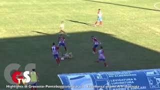 Eccellenza Girone A Grosseto-Pontebuggianese 4-2
