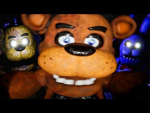 CHASED BY FREDDY THROUGH A NEW LOCATION!   Five Nights at Freddys FREE ROAM REMASTERED