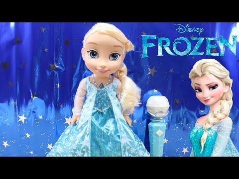 Disney Frozen - Canta con Elsa (Cefa Toys) | Juguetes de Frozen en español | Muñeca Elsa de Frozen
