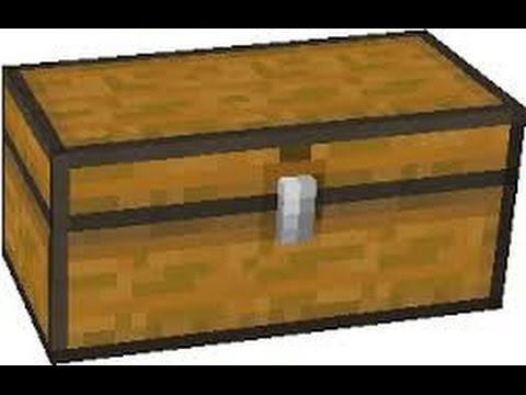 Papercraft Minecraft Papercraft Opening Chest