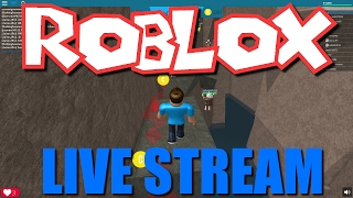 Roblox Livestream! Join Us In Game!