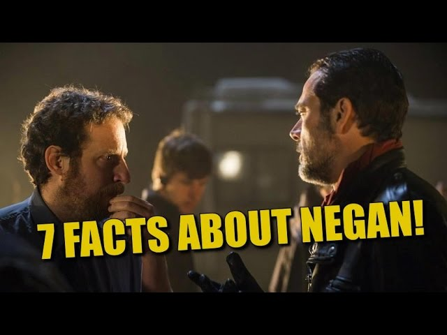 The Walking Dead Season 7 Negans Way 7 Facts About Negan