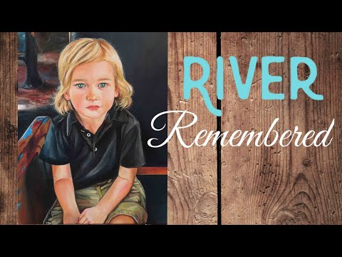 Painting a Child: Portrait Oil Painting Tribute Time Lapse – By Artist, Andrea Kirk | The Art Chik