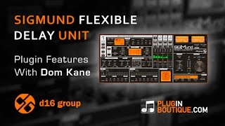 Sigmund Flexible Delay Plugin - Tour Review With Dom Kane