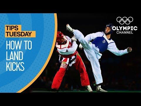 Taekwondo - How to land kicks through blocks | Olympians' Tips