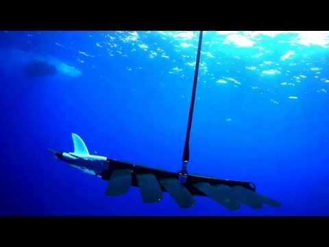 Liquid Robotics Wave Glider SV3 Being Deployed