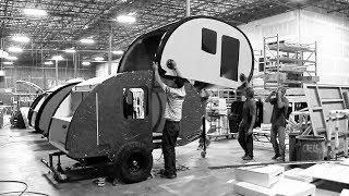 Bean Trailer – How to Build a Durable Teardrop Trailer (Travel Trailer, Camper Build, Made in Utah)