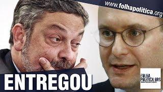URGENTE: Veja momento em que Palocci começa a entregar filho de Lula e advogado de Lula te..