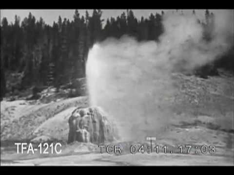 Geysers of the Yellowstone, 1920s
