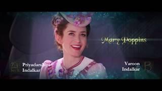 Mary Poppins Returns - Hindi Trailer Comparison