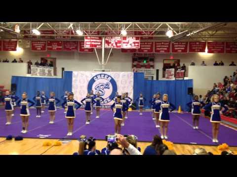 North Little Rock High School Varsity Cheer B2 competition 2014/2015