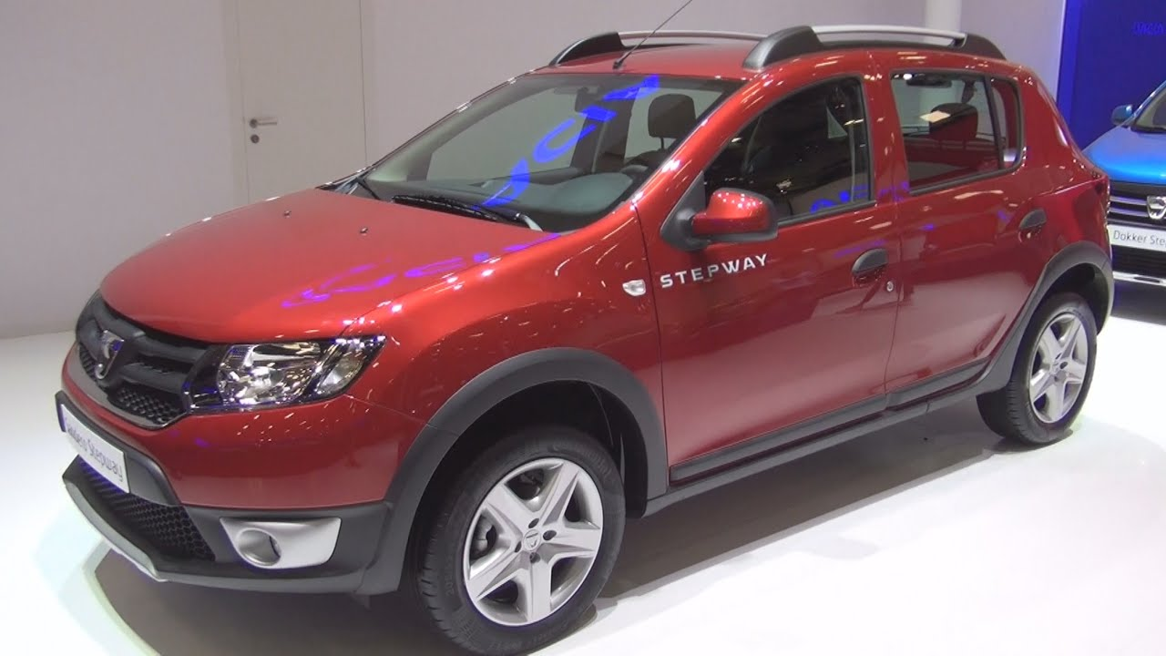dacia sandero stepway 1 5 dci 2015 exterior and interior. Black Bedroom Furniture Sets. Home Design Ideas