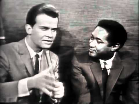 Sam Cooke is interviewed by Dick Clark